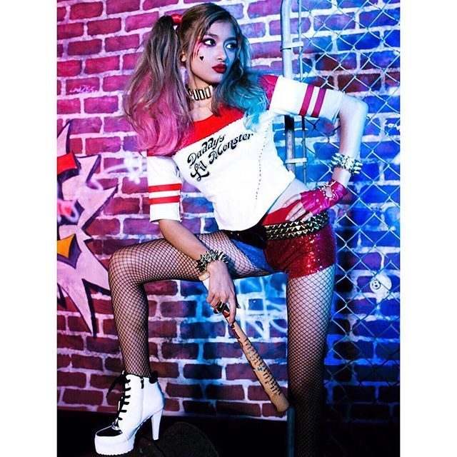 It's almost Halloween❤️What are you gonna wear❓ #harleyquinn #vivirolaofficial2016/10/28 16:17:43