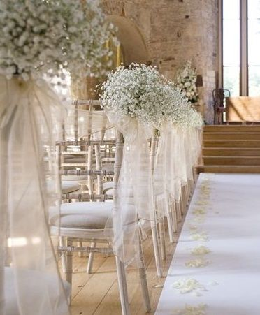 Wedding Magazine 13 Decoration Ideas For The Pew Ends At Your Ceremony