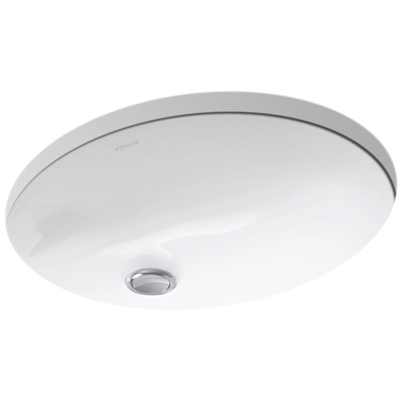 Kohler K 2209 Caxton 17 Undermount Bathroom Sink With Overflow