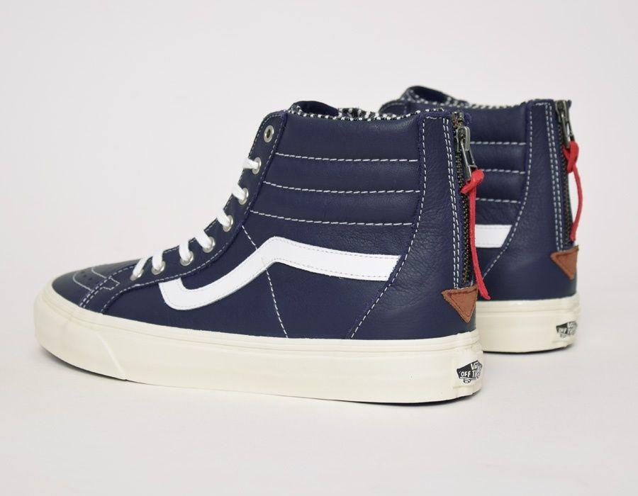 Tech Gadgets ·  Vans SK8-Hi Zip CA Navy  sneakers 8628a8457