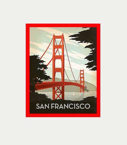 Golden Gate Bridge Decal San Francisco