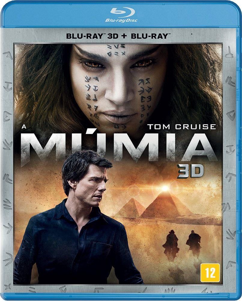 The Mummy Saraiva 3d Bd St 7899814212487 Filmes E American
