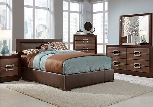 buy bedroom furniture shop for a city view 5 pc bedroom at rooms to go 10966