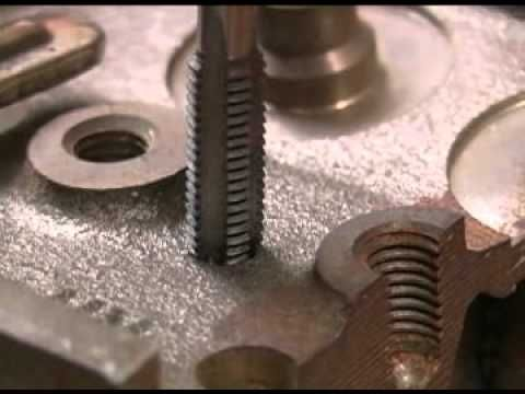 Using Taps Amp Dies Newmetalworker Com How To 39 S Tap Die Taps Dies Metal Working Tools