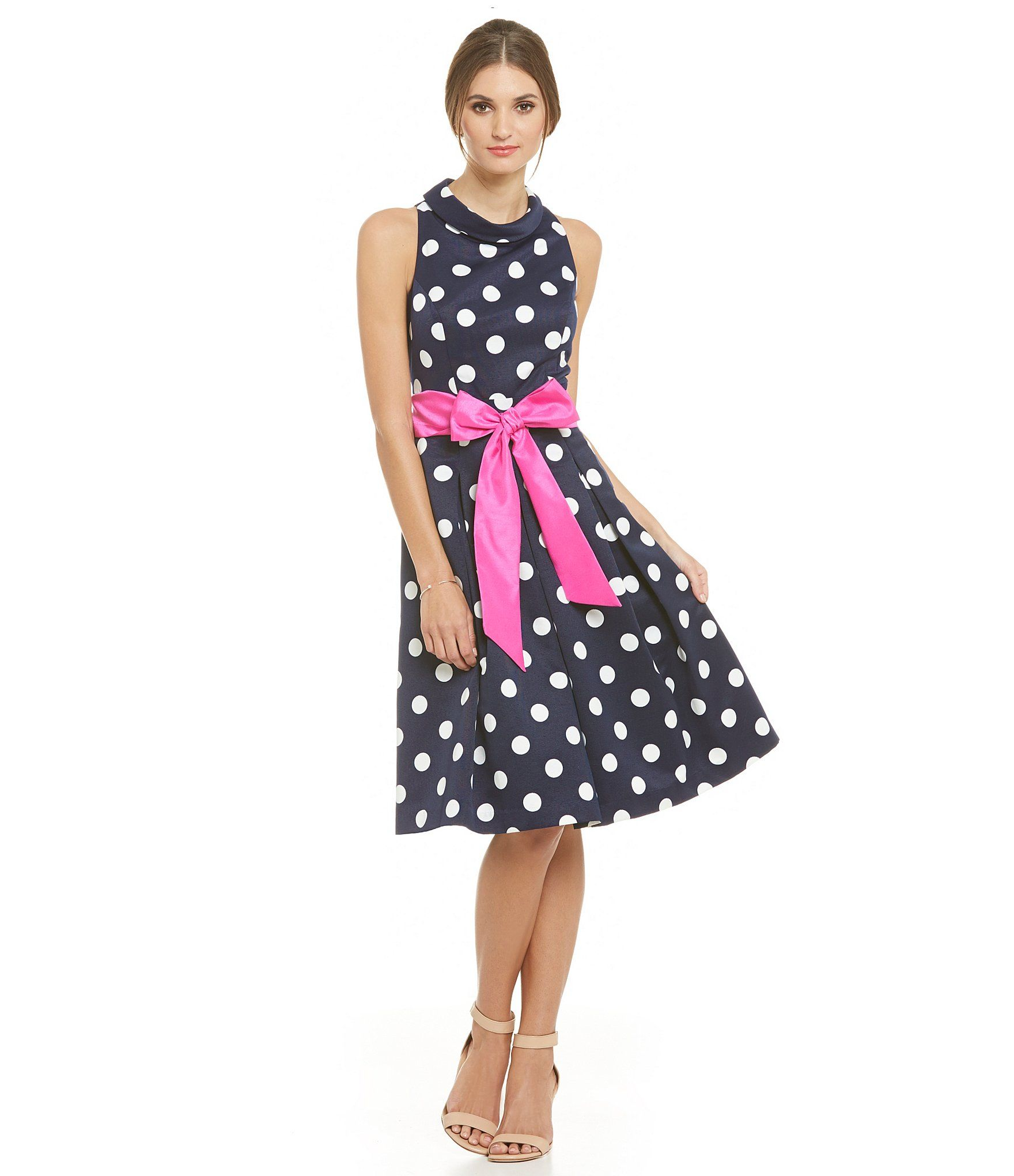 Eliza j polka dot midi dress dillards baby shower pinterest eliza j polka dot midi dress dillards ombrellifo Choice Image