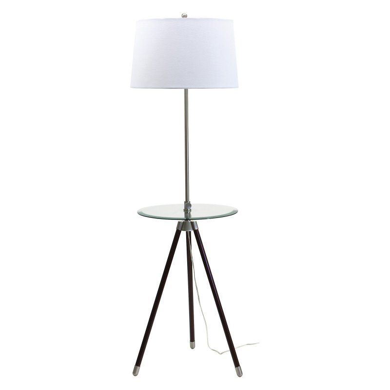 House of Troy TR202-SN Tripod Adjustable Floor Lamp - TR202-SN
