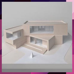 ARCHITECTURE MODEL on Instagram archmodel Paper model by ulyanasmek