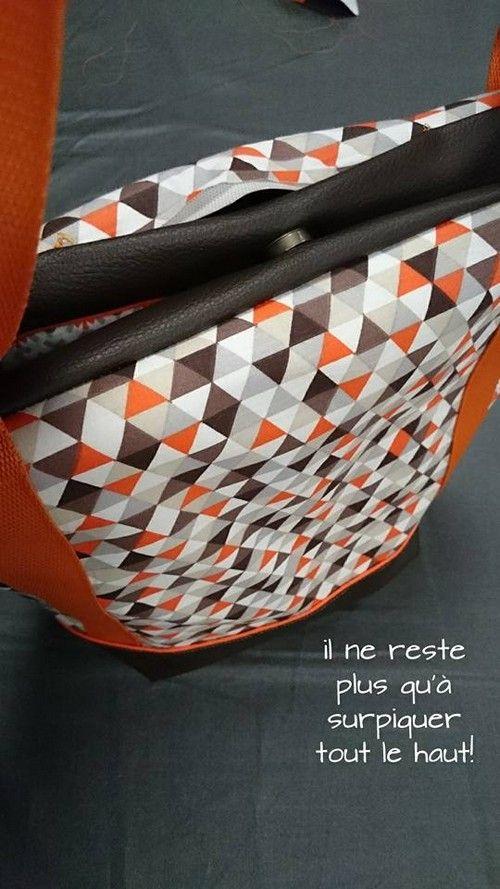 Tuto : le sac cabas je fais moi même   Couture   Sac cabas