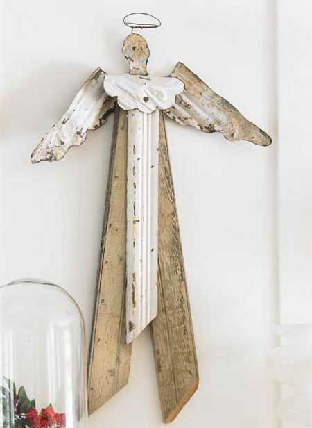 recycled angel holiday decorations - Angel Decorations