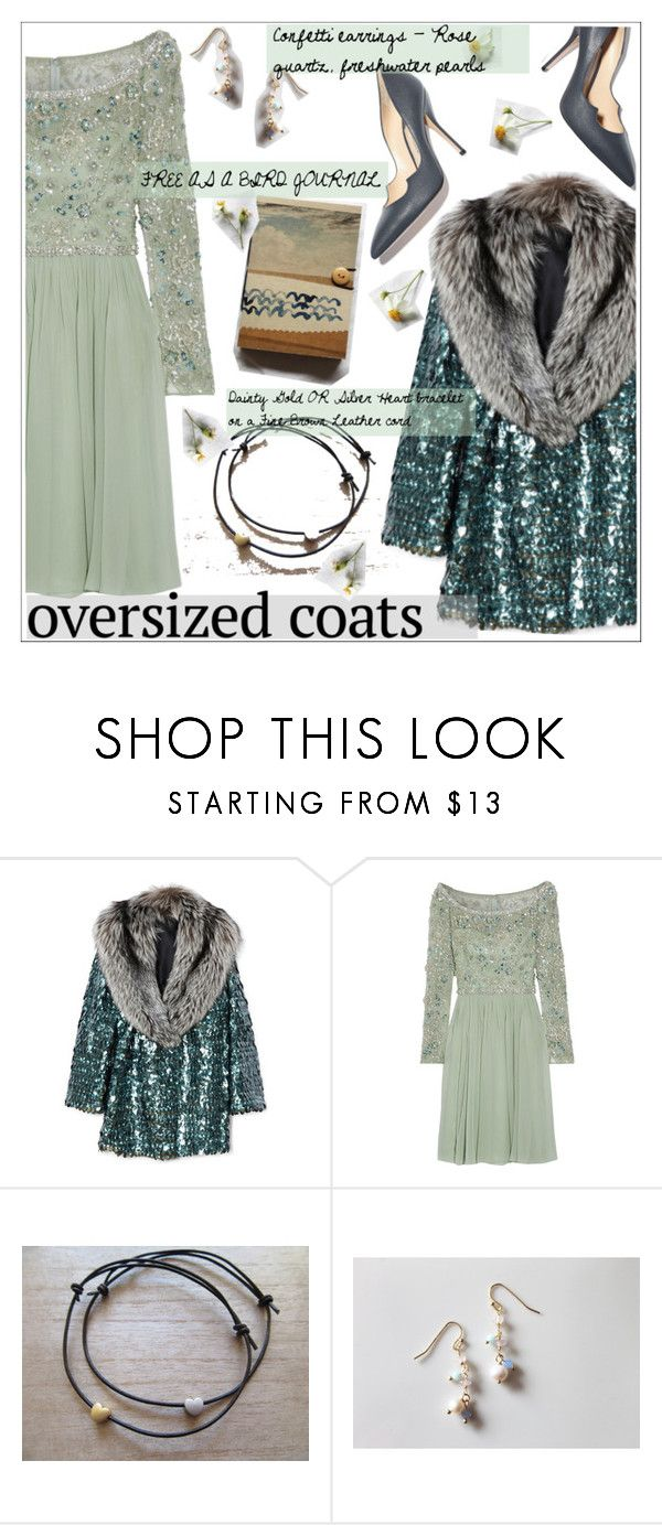 """Chic Oversized Coats"" by teoecar ❤ liked on Polyvore featuring Marc Jacobs, Jenny Packham, Paul Andrew, cassiopeiafall and orchhajewels"