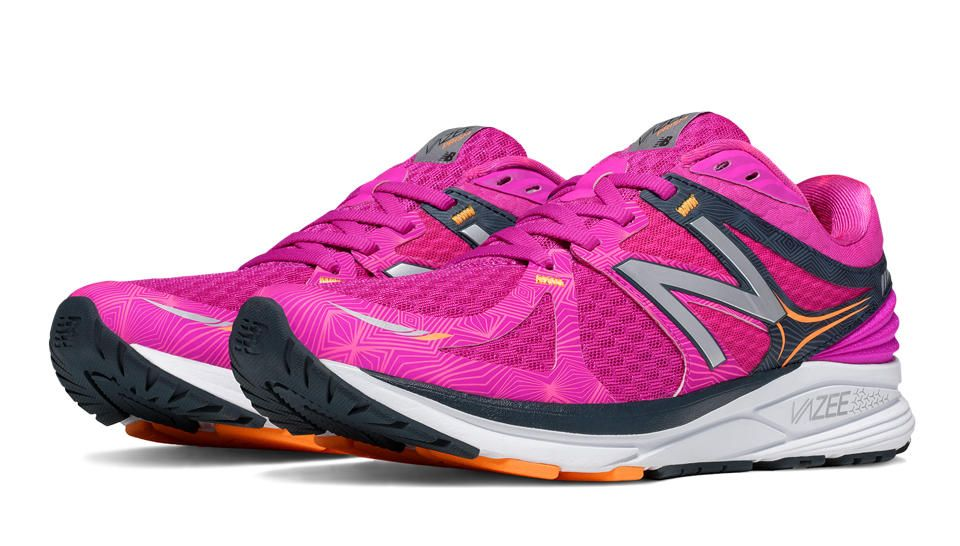 New Balance Women Vazee Prism Pink/Blue Stability Running Shoes