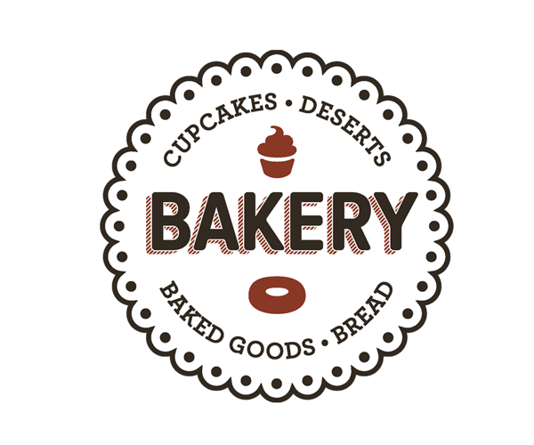 cupcakes-bakery-logo-design | Things to Wear | Pinterest | Bakery ...