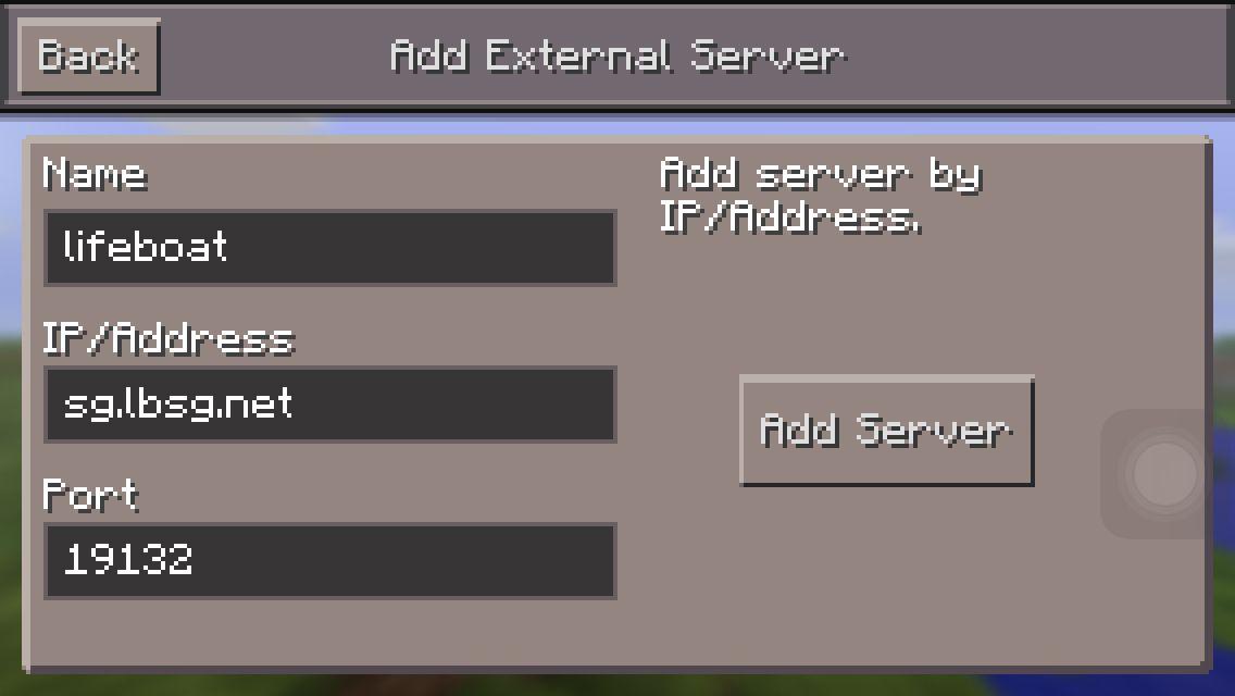 Lifeboat Server Minecraft Pe Minecraft Survival Games Servers For Minecraft Pe