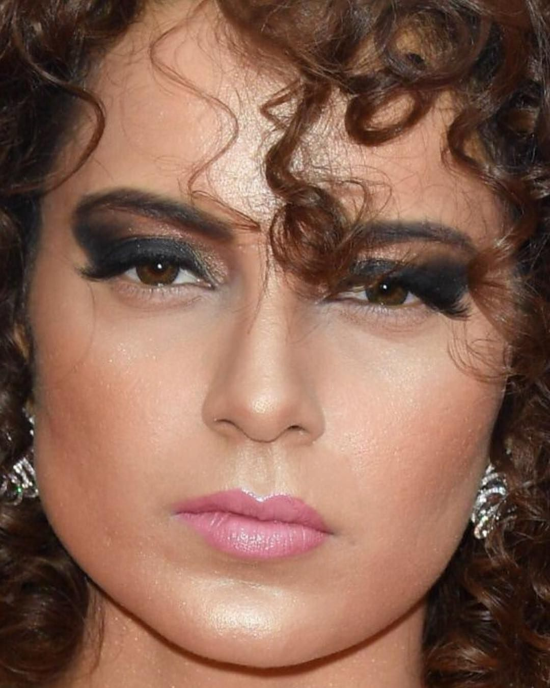 The Stylish Kangana Ranaut Spotted In Cannes Gorgeous Eyes Makeup Looks Bollywood Fashion
