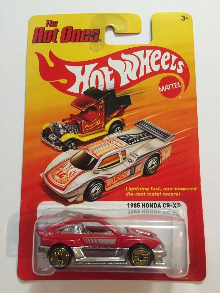 HOT WHEELS 1985 HONDA CIVIC The Hot Ones (With images