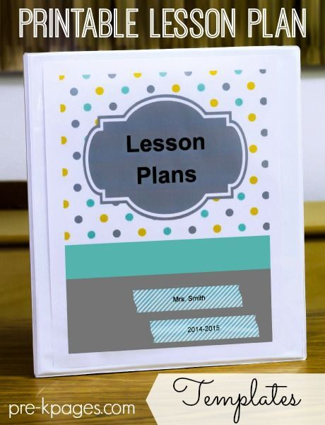 Lesson Plan Template Lesson Plan Templates Kindergarten And
