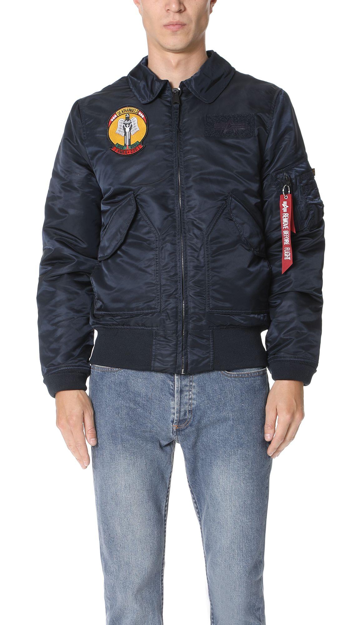 Alpha industries coach jacket