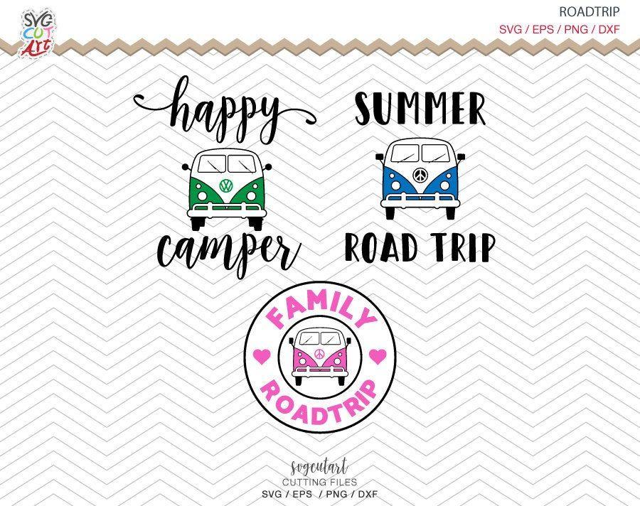 Summer Road Trip Svg Summer Svg Camping Svg Vacation Happy Etsy Summer Road Trip Road Trip Trip