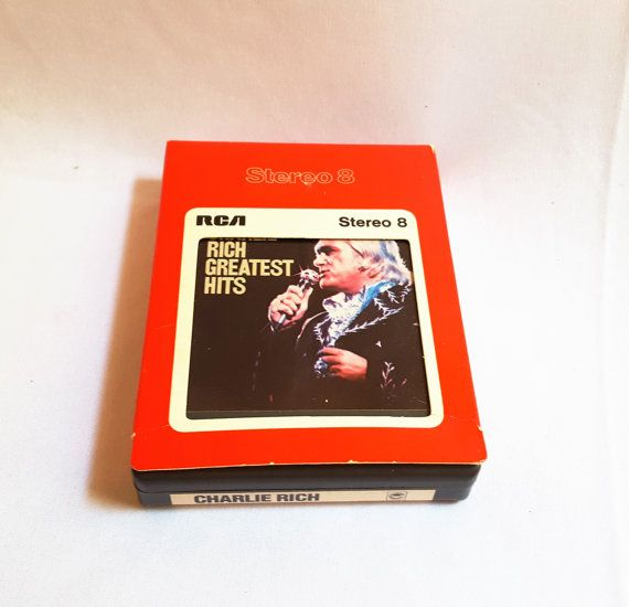 Charlie Rich Greatest Hits 8 Track Tape by ShareableSecrets