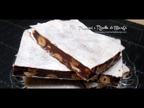 come preparare il torrone morbido al cioccolato - la video ricetta