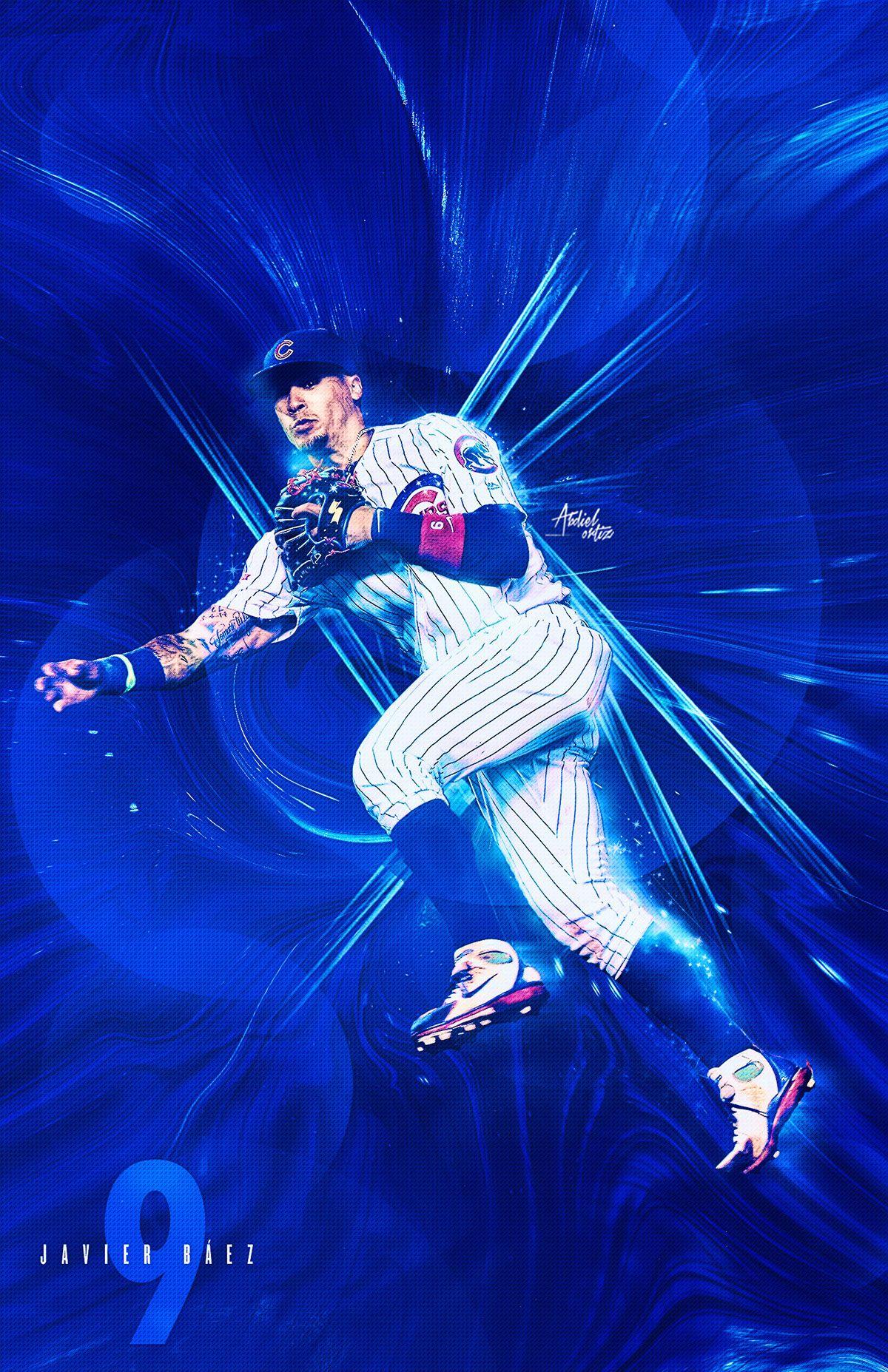 Pr Mlb On Behance Chicago Cubs Wallpaper Cubs Baseball Chicago Cubs Baseball