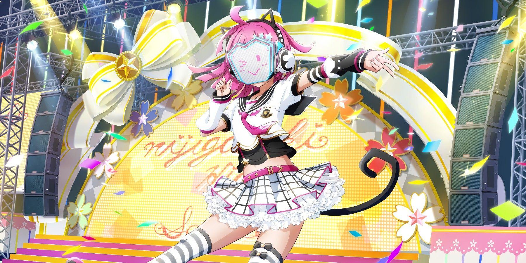 Pin By Melky Neko On Love Live All Stars Tennoji Rina Rina Tennoji Rina All star anime wallpaper