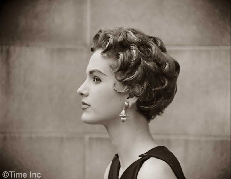 1950 S Hairstyles Poodle Cut