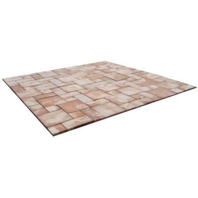 Sandcrete Natural Pattern Tan Blend Concrete Patio