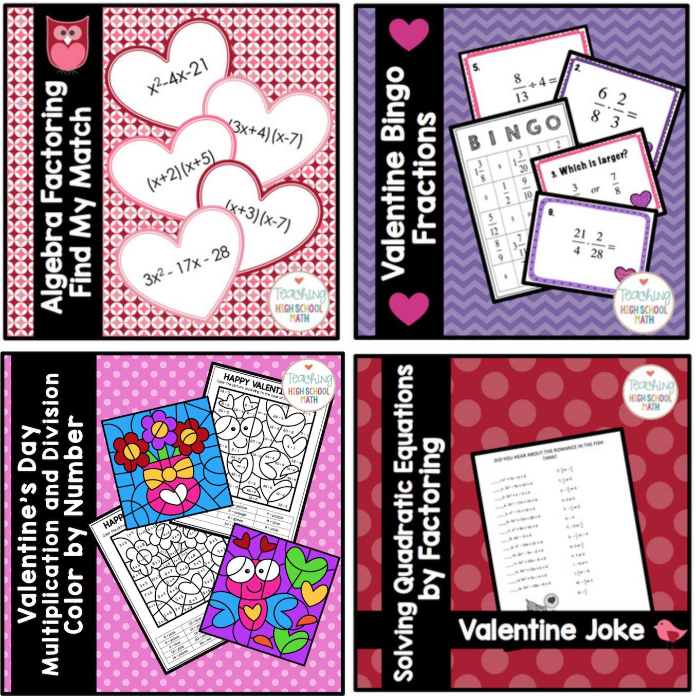 Fun Math Ideas For Valentine S Day