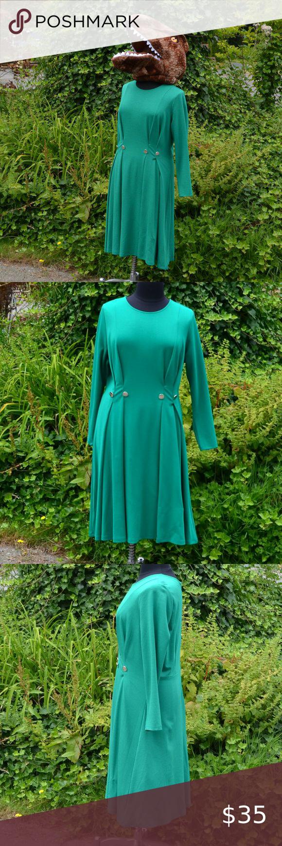 Eloquii 20 Green Knit Long Sleeve Midi Dress Long Sleeve Midi Dress Green Midi Dress Long Sleeve Midi [ 1740 x 580 Pixel ]