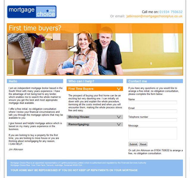 Mortgage Choice Plus Wordpress Design Design Development Mortgage