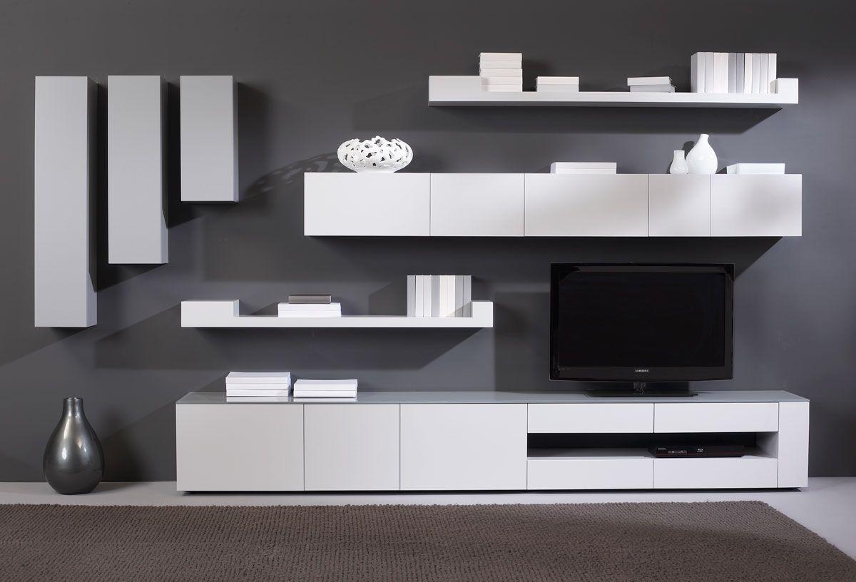 Composition Karat Blanc Laque Meubles En Belgique Selection Meubles Amougies Mobilier Living Room Tv Unit Designs Tv Unit Design Living Room Tv Unit