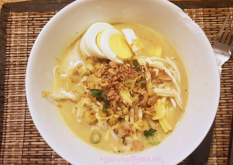 Resep Laksa Bogor Tanpa Oncom Oleh Ghita Pramujie Resep Resep Masakan Indonesia Makanan Resep Masakan Asia