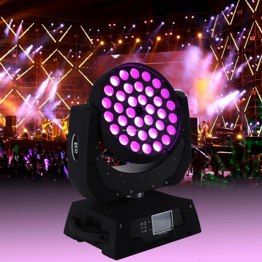 (Shipping from Germany) 36x10W RGBW LED Zoom Moving Head