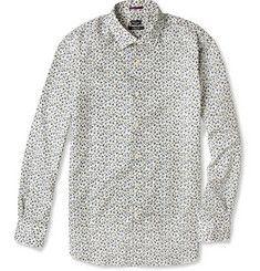 Paul Smith LondonSlim-Fit Floral-Print Cotton Shirt