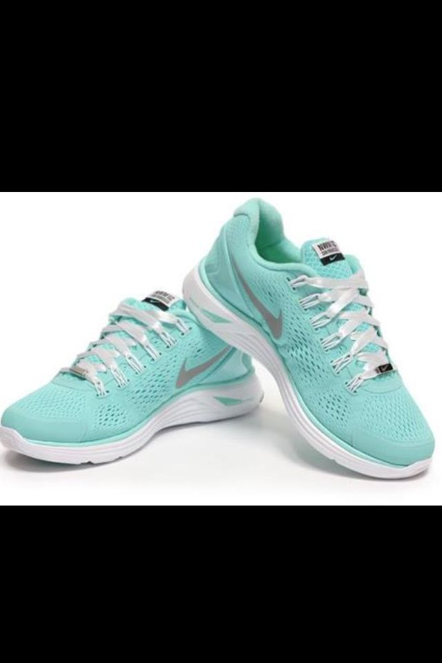 quality design 4ac65 309ec One of a kind Tiffany Blue lunar glides for the Nike Women s Marathon!  Can t wait to get mine!