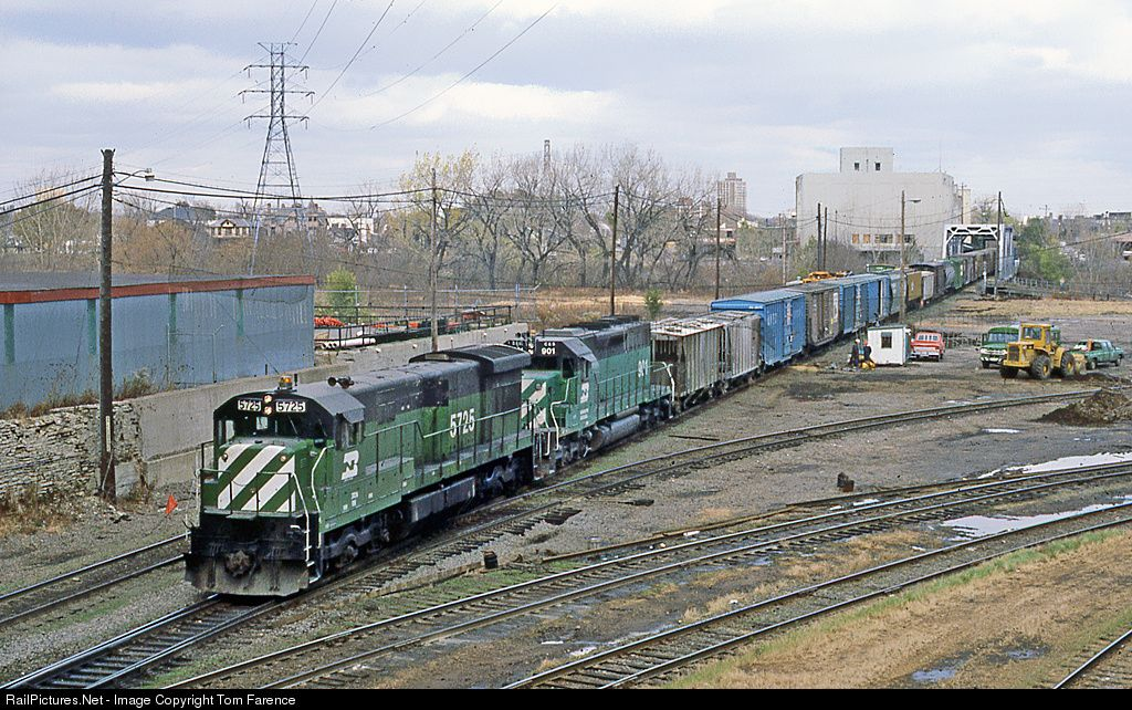 RailPicturesNet Photo BN 5725 Burlington Northern Railroad GE - railcar repair sample resume