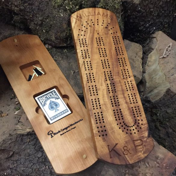 Personalized Cribbage Board                                                                                                                                                      More