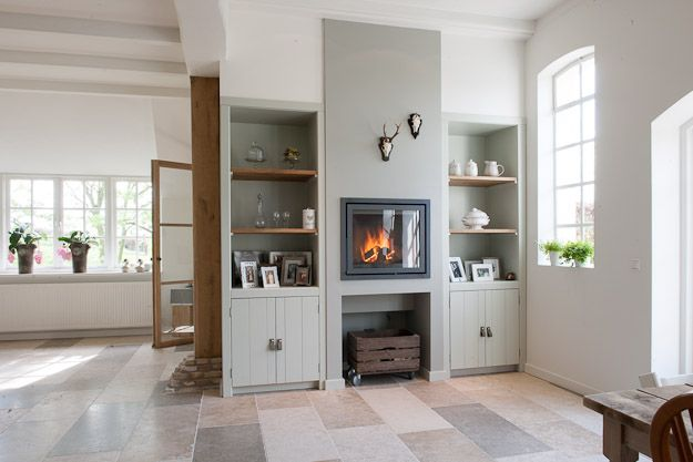 Woning met natuursteen tegels bourgondische dallen beaune