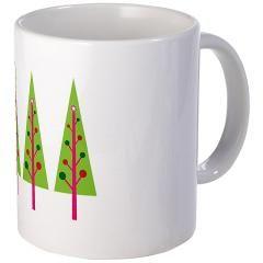christmas-trees Art Mug > christmas-trees Art > christmas