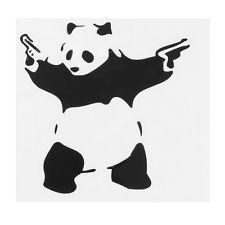 Funny PANDA VINYL JDM DECAL AUTO CAR WINDOW BUMPER STICKER BANKSY ART New