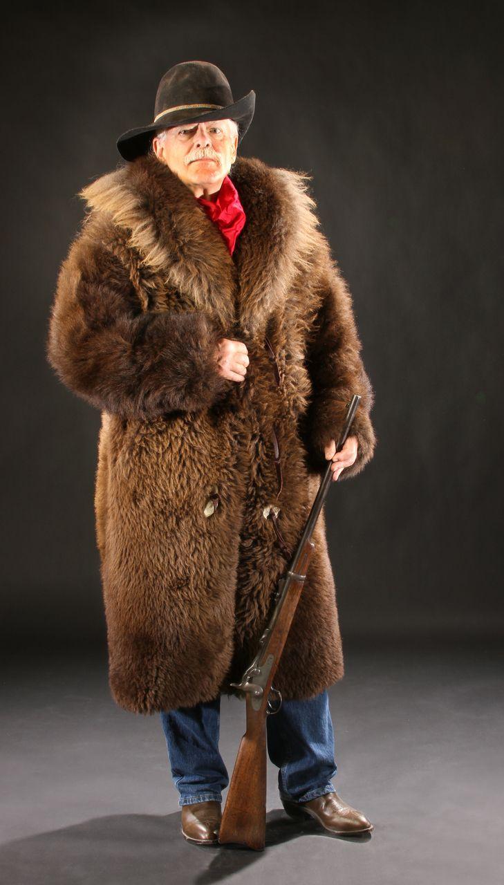 Natural Buffalo Fur Coat FullLength Custom Tailored