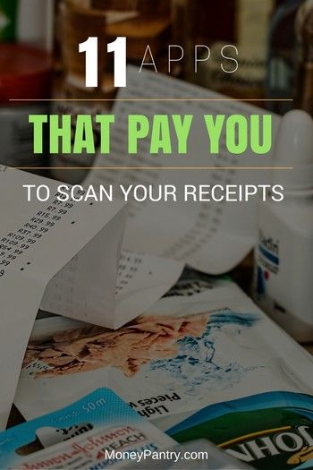 Take Picture of Your Receipts \ Get Money from These 11 Apps - money receipts