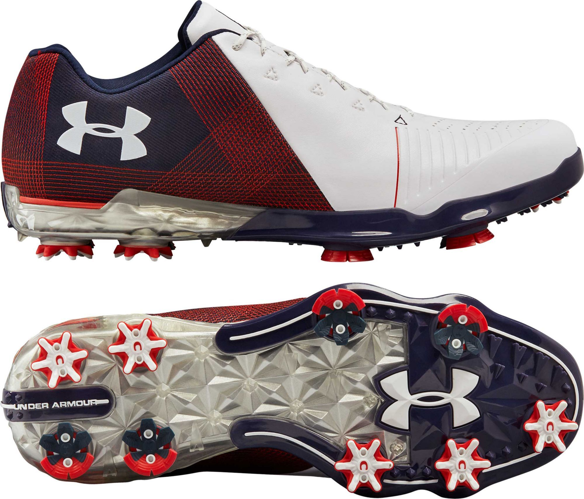da2f399205c3 Under Armour Men s Spieth 2 USA Edition Golf Shoes in 2018 ...