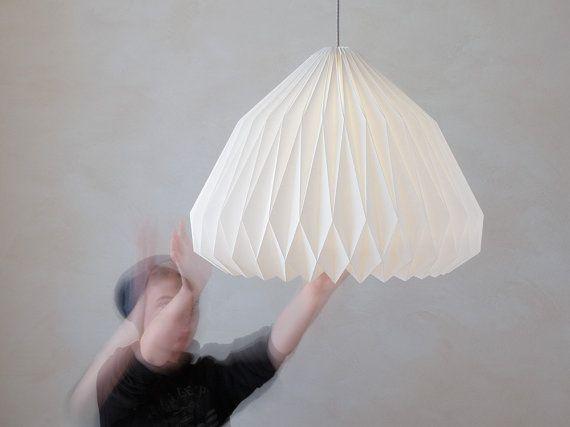 Spherica xl origami lampshade cosas de papel papel y depto spherica xl origami lampshade aloadofball Gallery