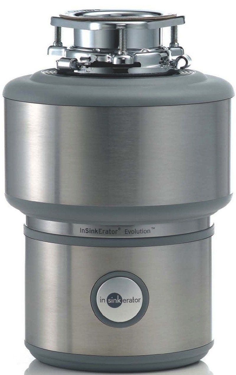 In-Sink-Erator Evolution 200 Continuous Feed Kitchen Waste Disposer ...