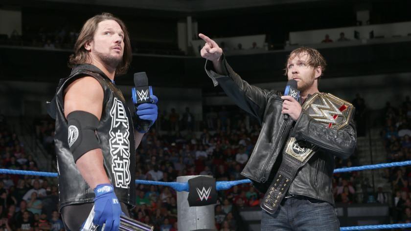 Dean Ambrose cara a cara con AJ Styles en guerra psicológica: fotos