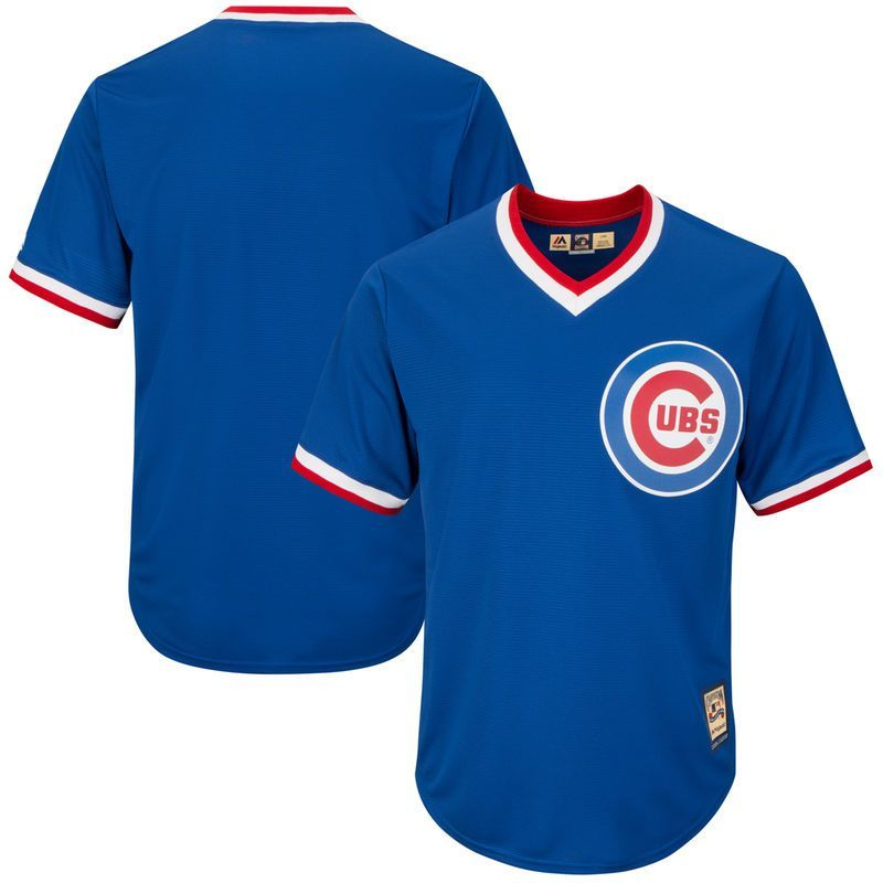 Chicago cubs majestic big tall alternate cooperstown