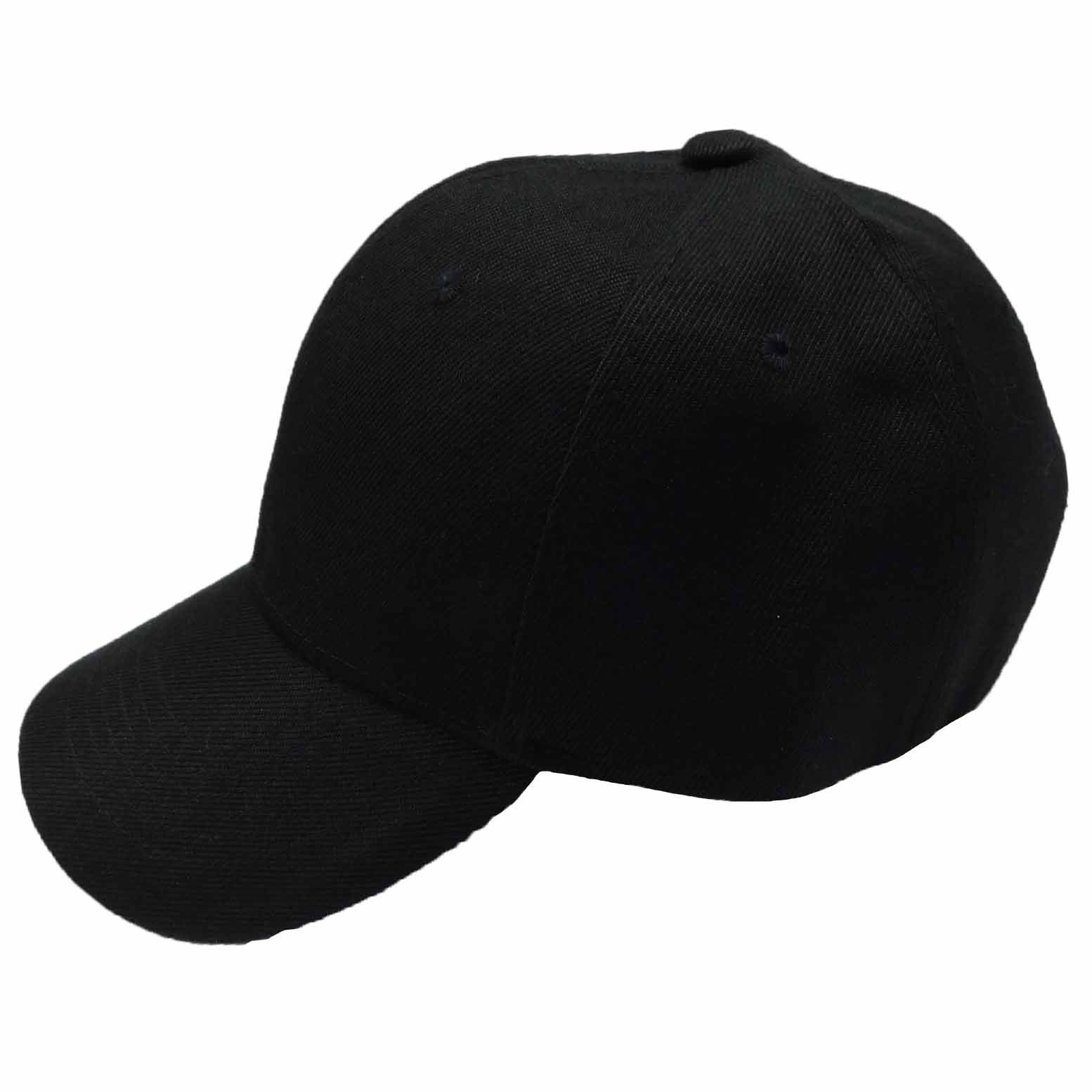 Baseball Cap with Stitched Bill