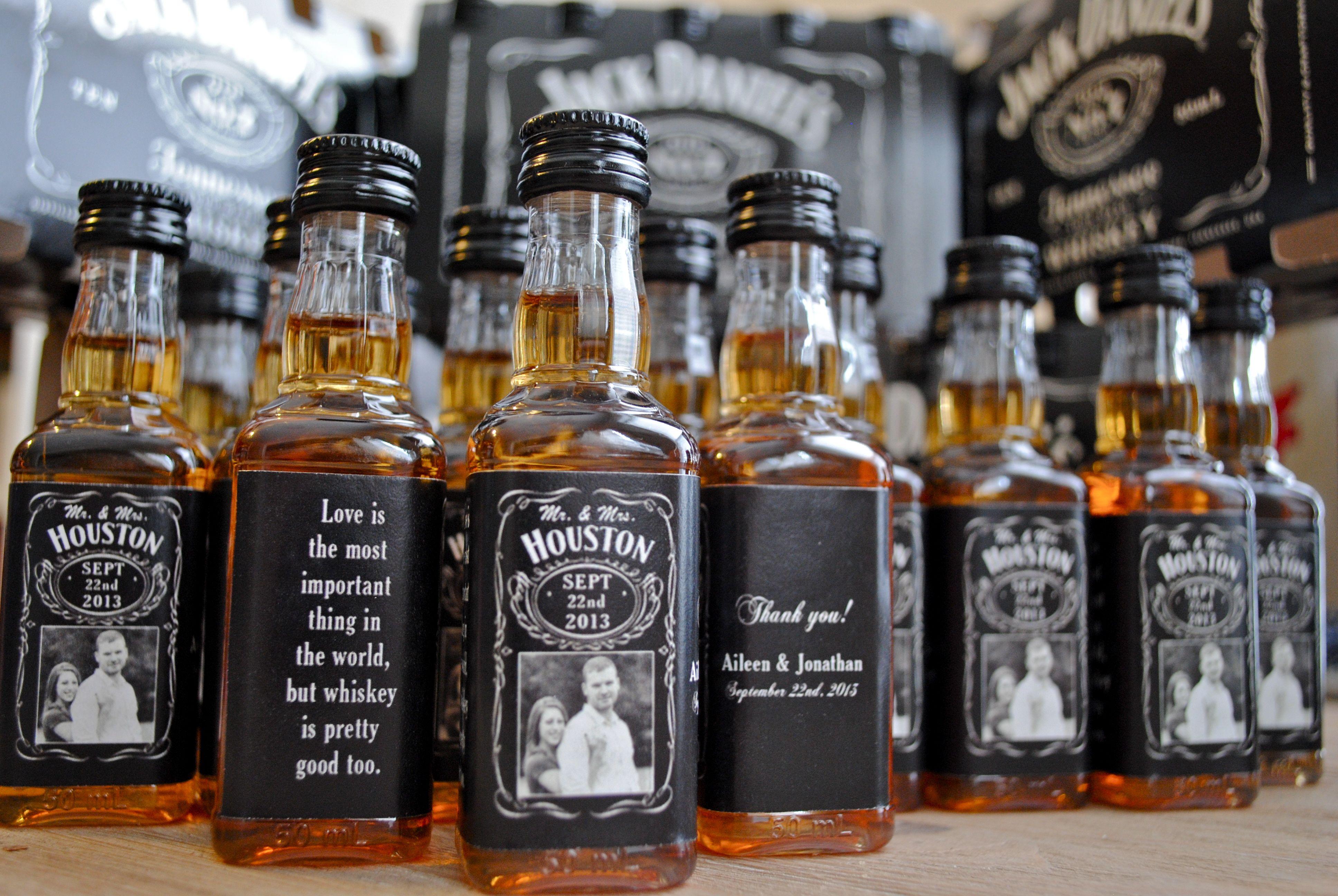 Labels for Mini Liquor Bottles Free Download Custom Jack Daniels ...